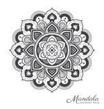 Mandala decorative ornament design Stock Photos