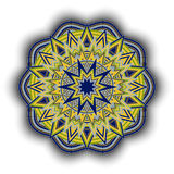 Mandala-09 stock illustration