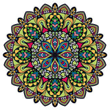 Mandala, decorative round tribal ethnic ornament. Vector islamic arabic indian pattern Stock Photo