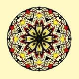 mandala Decorativo abstrato étnico floral Fotos de Stock