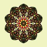 mandala Decorativo abstrato étnico floral Foto de Stock Royalty Free
