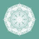 mandala dekorativ elementtappning vektor illustrationer