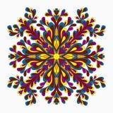 mandala Dekorative Elemente der Weinlese Auch im corel abgehobenen Betrag Stockbilder