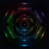 Mandala del arco iris Imagenes de archivo