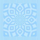 Mandala del azul de océano Fotos de archivo
