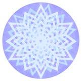 Mandala del color de la acuarela Fotografía de archivo libre de regalías