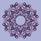Mandala del cordón Imagen de archivo libre de regalías