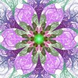 Mandala del fiore Fotografia Stock