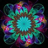 Mandala del fiore illustrazione di stock