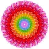 Mandala del fiore Immagine Stock Libera da Diritti