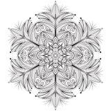Mandala del fiore Fotografie Stock