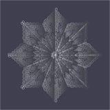 Mandala del garabato Imágenes de archivo libres de regalías