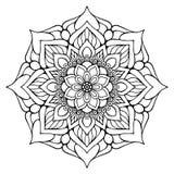 Mandala del indio del vector Fotos de archivo