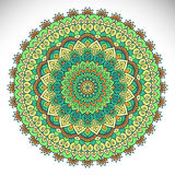 Mandala del indio del vector Foto de archivo