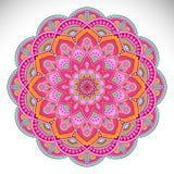 Mandala del indio del vector Imágenes de archivo libres de regalías