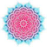 Mandala del indio del vector Foto de archivo libre de regalías