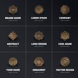 Mandala del indio del vector Imagenes de archivo