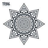 Mandala del indio del vector Imagen de archivo libre de regalías