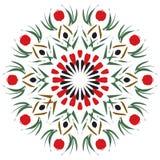 Mandala del melograno Fotografia Stock Libera da Diritti