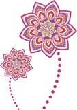 Mandala del modello di fiore royalty illustrazione gratis