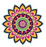 Mandala del modello di fiore Fotografia Stock Libera da Diritti