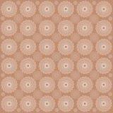 Mandala del monocromo del color del vector Fotografía de archivo
