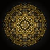 Mandala del oro Fotografía de archivo libre de regalías