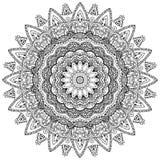 Mandala del pavone Fotografie Stock