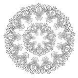 Mandala del pizzo Fotografie Stock Libere da Diritti