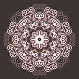 Mandala del pizzo Fotografie Stock