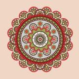 Mandala del vector Imagenes de archivo