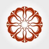 Mandala del vector Imagen de archivo