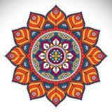 Mandala dell'indiano di vettore Fotografie Stock