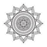 Mandala dell'indiano di vettore Immagine Stock Libera da Diritti