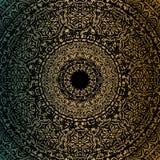 Mandala dell'oro Immagini Stock Libere da Diritti