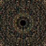 Mandala dell'oro Fotografia Stock