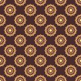 mandala deseniuje bezszwowego Roczników elementy w orientalnym stylu te Zdjęcia Royalty Free