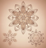 Mandala Design stock illustrationer
