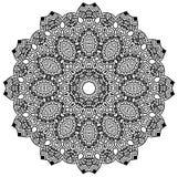 Mandala Design Royalty-vrije Stock Afbeeldingen