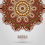 Mandala Design Stock Foto's