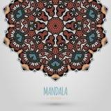 Mandala Design Fotografia de Stock