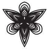 Mandala Design abstracta Imagen de archivo libre de regalías