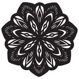 Mandala Design abstraite illustration stock