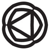 Mandala Design abstraite Photo libre de droits