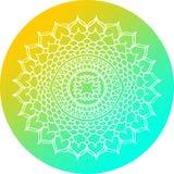 Mandala Design Circle Immagine Stock Libera da Diritti