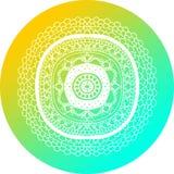 Mandala Design Circle Fotografie Stock Libere da Diritti