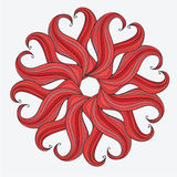 Mandala design. Concept image for card or design Stock Photography