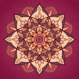 Mandala design stock illustration