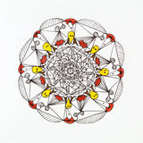 Mandala design Royalty Free Stock Image