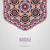 Mandala Design Ilustração do vetor Imagem de Stock Royalty Free